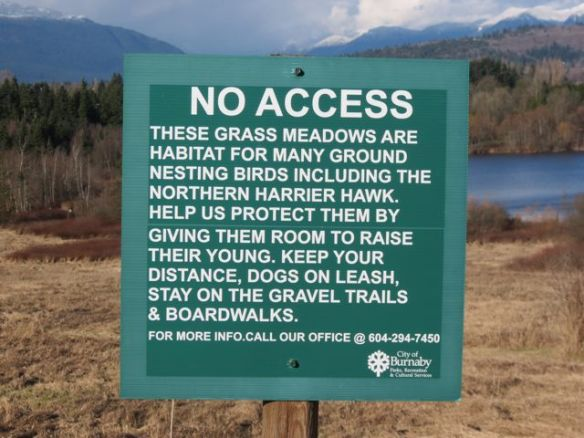 Meadow sign
